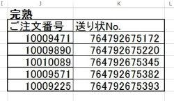 出荷一覧表180615-2完熟梅