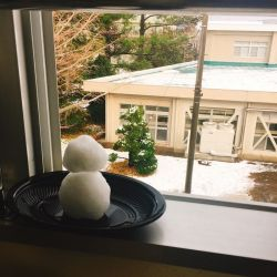 大雪 雪だるまのひとりごと